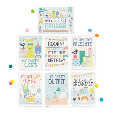 Baby S First Special Moment Birthday Cards By Milestone